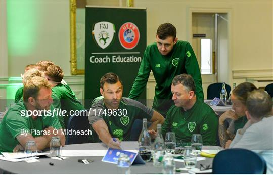 UEFA Pro Licence Course