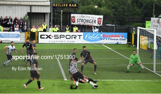 Dundalk v Riga - UEFA Champions League First Qualifying Round 1st Leg