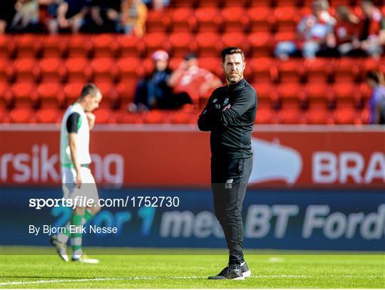 SK Brann v Shamrock Rovers - UEFA Europa League First Qualifying Round 1st Leg