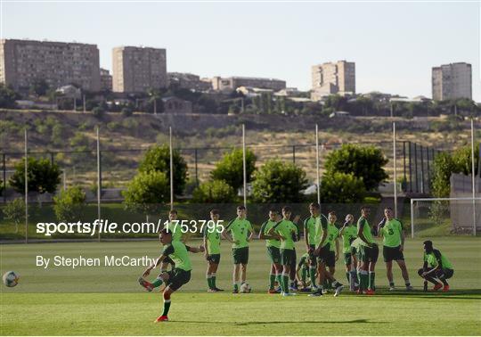 Republic of Ireland U19's Portraits & Training Session