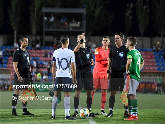 Republic of Ireland v France - 2019 UEFA U19 European Championship Finals Group B