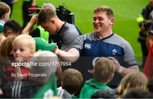 Ireland Rugby Open Training Session