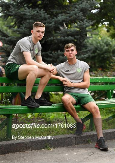 Republic of Ireland U19's Features & Training Session