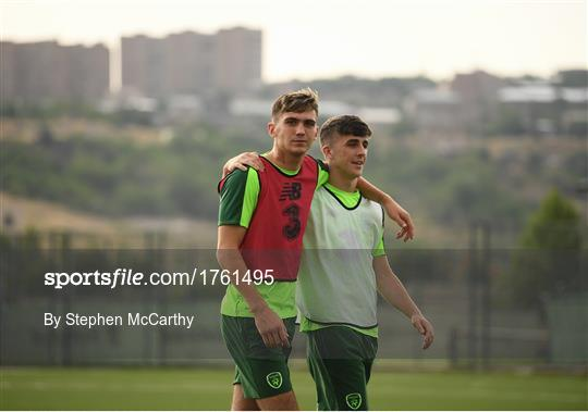 Republic of Ireland U19's Features & Training Session