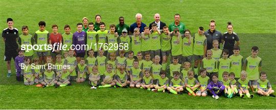 FAI Festival of Football - Mick McCarthy vists Trim Celtic