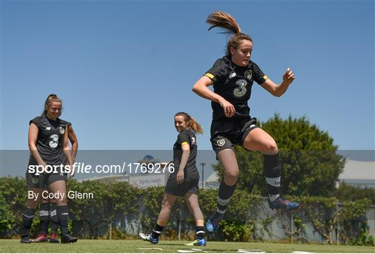 Republic of Ireland Women's Team Training Session