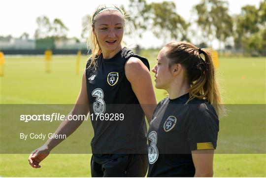 Republic of Ireland Women's Team Training Session