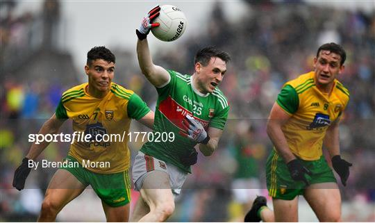Mayo v Donegal - GAA Football All-Ireland Senior Championship Quarter-Final Group 1 Phase 3
