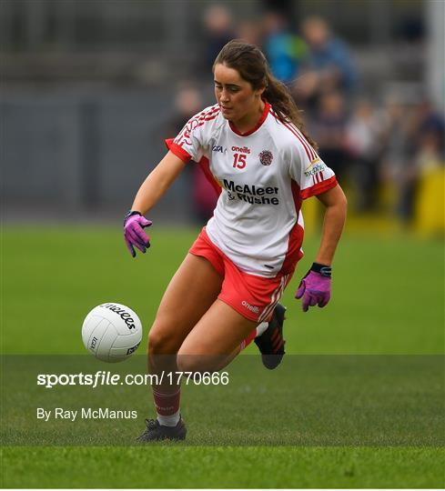 Cork v Tyrone - TG4 All-Ireland Ladies Football Senior Championship Quarter-Final