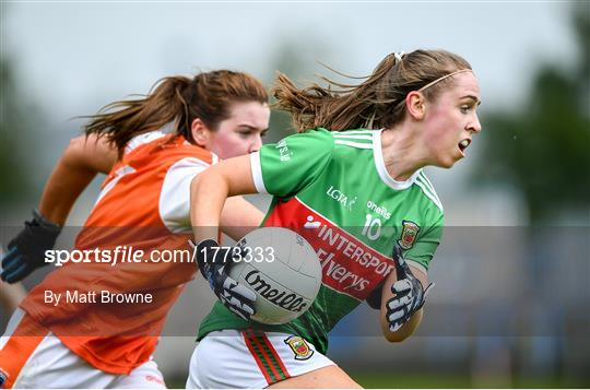 Mayo v Armagh - TG4 All-Ireland Ladies Football Senior Championship Quarter-Final