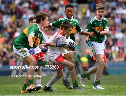 INTO Cumann na mBunscol GAA Respect Exhibition Go Games at Kerry v Tyrone - GAA Football All-Ireland Senior Championship Semi-Final