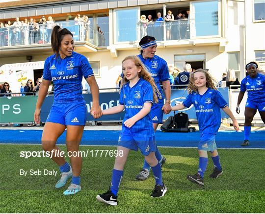 Mascots at Leinster v Connacht - Women's Interprovincial Rugby Championship