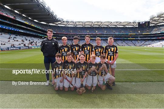INTO Cumann na mBunscol GAA Respect Exhibition Go Games at Kilkenny v Tipperary - GAA Hurling All-Ireland Senior Championship Final