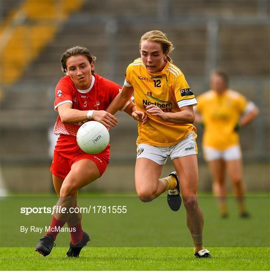 Louth v Antrim  - TG4 All-Ireland Ladies Football Junior Championship Semi-Final