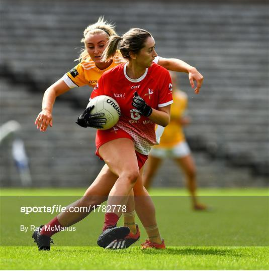 Louth v Antrim  - TG4 All-Ireland Ladies Football Junior Championship Semi-Final