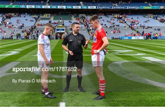 Cork v Galway - Electric Ireland GAA Football All-Ireland Minor Championship Final