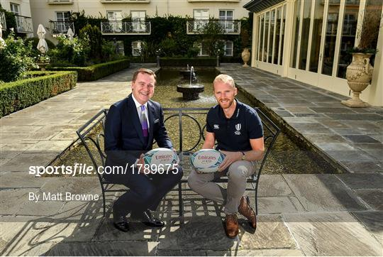 Emirates Rugby World Cup preview with Wayne Barnes and Tommy Bowe