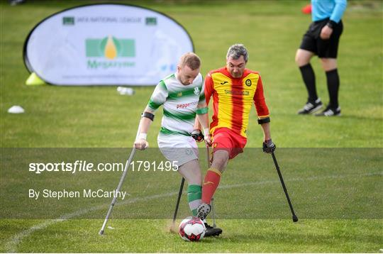 Megazyme Amputee Football League Cup Finals