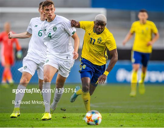 Sweden v Republic of Ireland - UEFA European U21 Championship Qualifier Group 1
