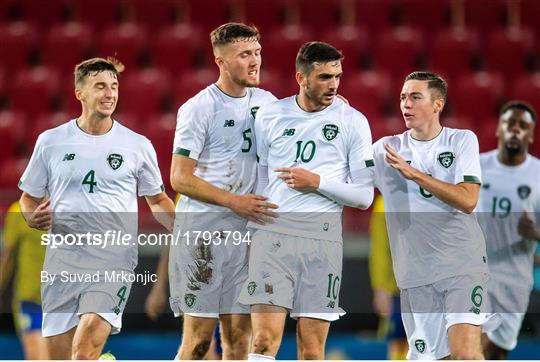 Sweden v Republic of Ireland - UEFA European U21 Championship Qualifier Group 1