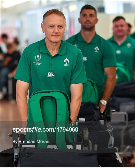 Ireland Rugby Squad Arrive in Japan ahead of Rugby World Cup 2019
