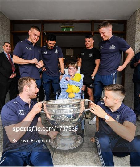 All-Ireland Senior Football Champions visit Children's Health Ireland at Crumlin