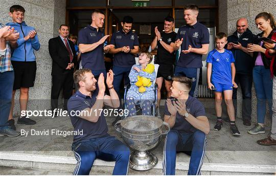 All-Ireland Senior Football Champions visit Children's Health Ireland at Crumlin