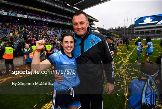Dublin v Galway - TG4 All-Ireland Ladies Football Senior Championship Final