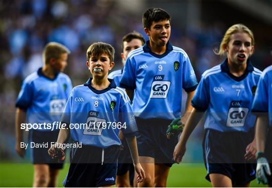 INTO Cumann na mBunscol GAA Respect Exhibition Go Games at Dublin v Kerry - GAA Football All-Ireland Senior Championship Final Replay