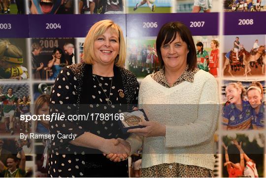 1994 Jubilee Team are honoured ahead of the TG4 All-Ireland Ladies Football Senior Championship Final