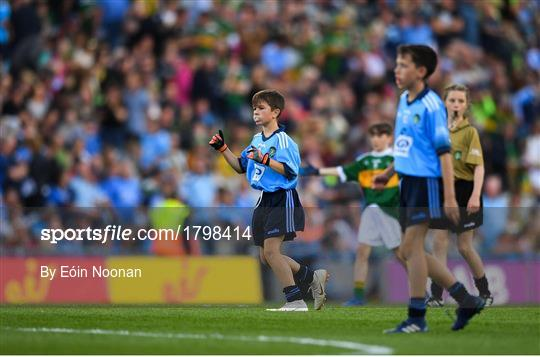 INTO Cumann na mBunscol GAA Respect Exhibition Go Games at Dublin v Kerry - GAA Football All-Ireland Senior Championship Final Replay
