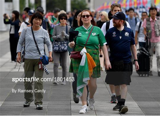 Ireland v Scotland - 2019 Rugby World Cup Pool A