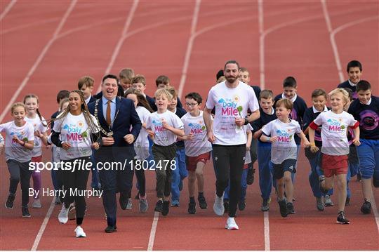 The Daily Mile Dublin City Schools launch