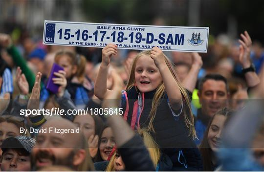 Dublin Senior Football teams homecoming