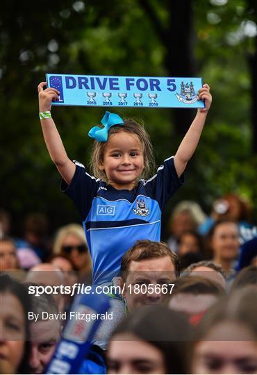 Dublin Senior Football teams homecoming