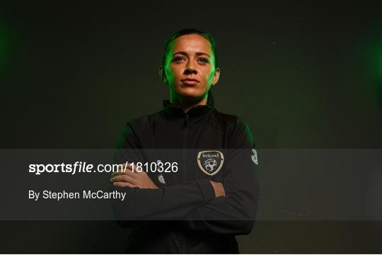 Republic of Ireland Women's Team Press Conference & Training Session