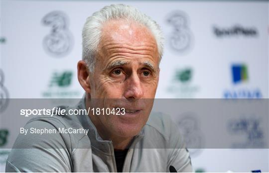 Republic of Ireland Press Conference & Training Session