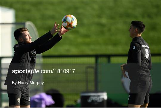 Republic of Ireland Press Conference & Training Session