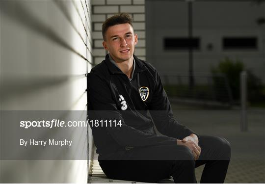 Republic of Ireland U21's Press Conference & Training Session