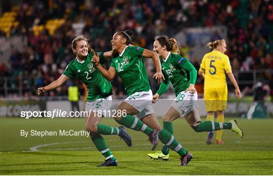 Republic of Ireland v Ukraine - UEFA Women's 2021 European Championships Qualifier