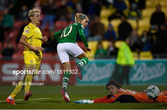 Republic of Ireland v Ukraine - UEFA Women's 2021 European Championships Qualifier