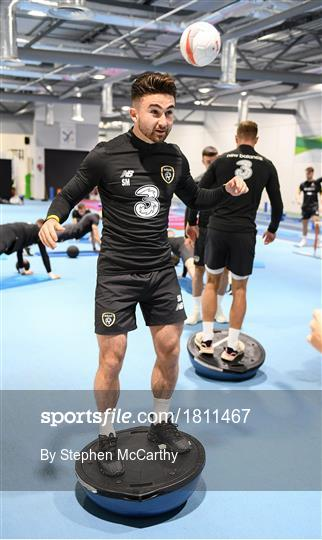 Republic of Ireland Gym Session