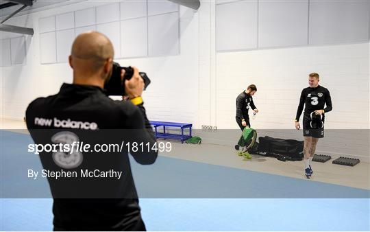 Republic of Ireland Gym Session