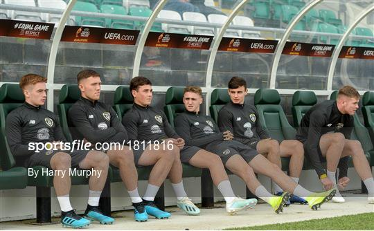 Republic of Ireland U21's Training Session