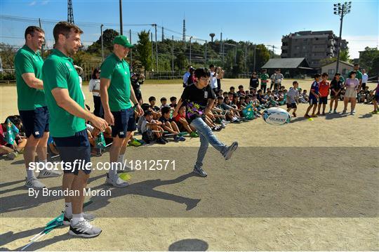 Ireland Rugby School Visit