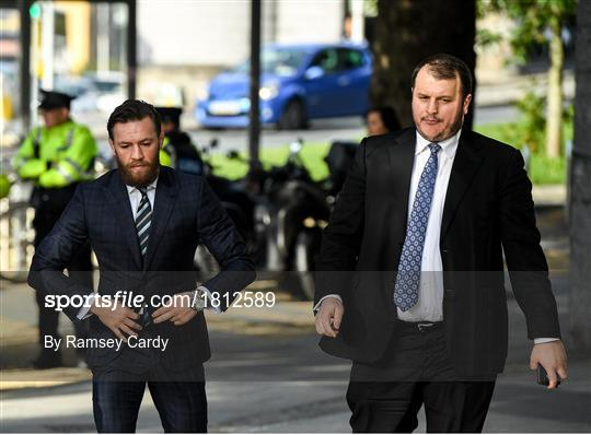 Conor McGregor Court Appearance