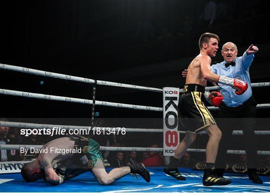 MTK Fight Night in Belfast