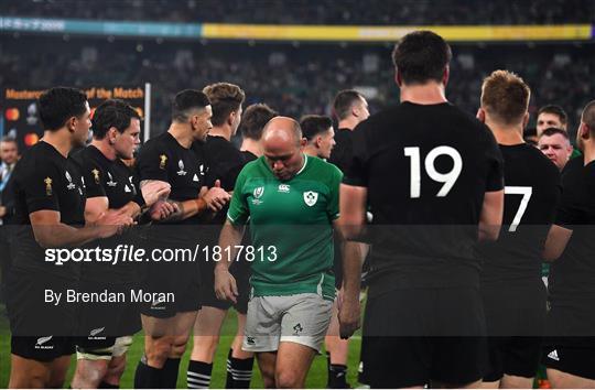 New Zealand v Ireland - 2019 Rugby World Cup Quarter-Final