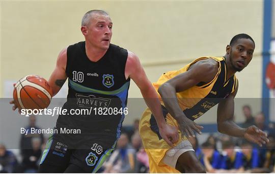 Keane's Supervalu Killorglin v Garvey's Tralee Warriors - Hula Hoops Pat Duffy Men's National Cup 1st Round
