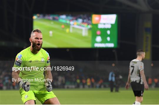 Dundalk v Shamrock Rovers - extra.ie FAI Cup Final